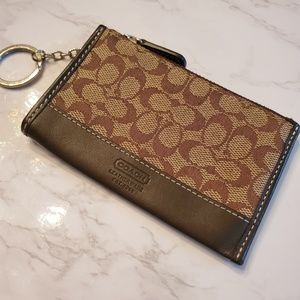 Coach Mini Slim Card Wallet